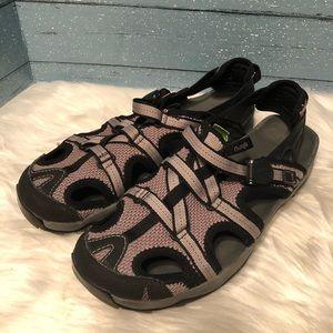 Ahnu lavender/ Black water/ hiking sandals